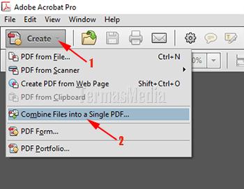 cara menggabungkan file pdf dengan acrobat reader dc