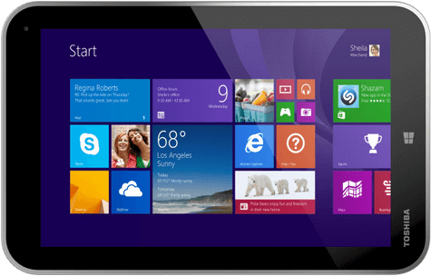 Toshiba Encore 2, tablet digital dengan sistem operasi Windows 8.1