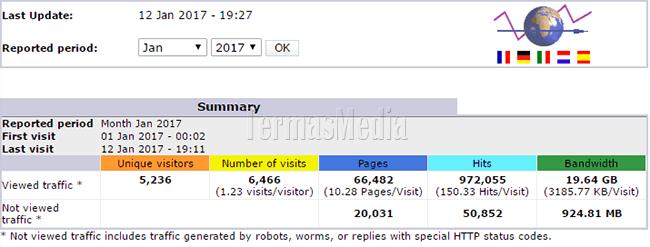 Cara Melihat Statistik Pengunjung Website Melalui cPanel