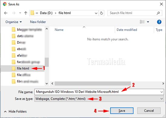 Menyimpan Halaman Web Ke Format Html Untuk Dibuka Secara Offline