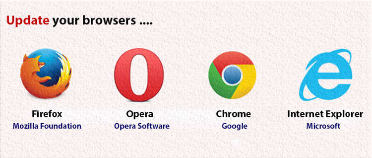 Update Your Browsers