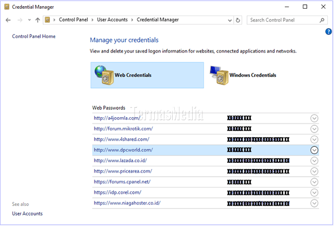 Melihat Password Yang Tersimpan Di Microsoft Edge Melalui