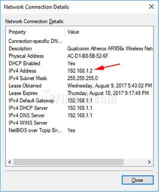 Cara Melihat Atau Mengetahui IP Address Komputer