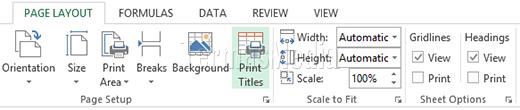 Mengulang Judul Kolom Excel Agar Selalu Tercetak Di Setiap Halaman
