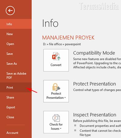 Cara Mencetak Beberapa Slide Powerpoint Dalam Satu Halaman Lembar