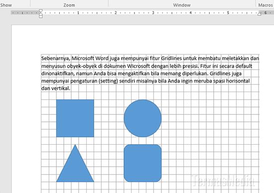 Cara Menampilkan Gridlines Di Dokumen Microsoft Word