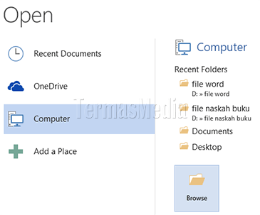Mengedit file pdf di Microsoft Word