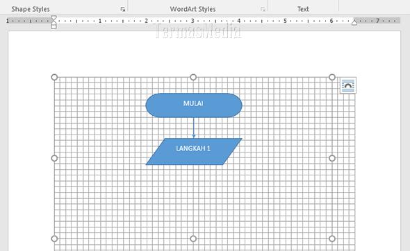 Cara Membuat Flowchart Bagan Alir Di Microsoft Word