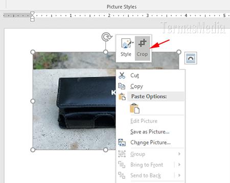 4 Cara Praktis Memotong Gambar Dengan Fitur Crop Di Microsoft Office Word
