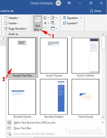 Cara Menempatkan Teks Di Atas Gambar Di Microsoft Word