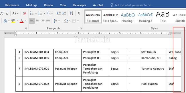 Cara Memasukan Data Dari Excel Ke Word