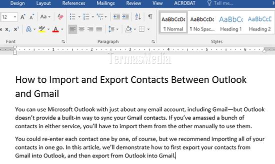 Cara Menterjemahkan Dokumen Microsoft Word Ke Bahasa Berbeda
