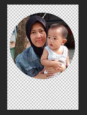 Memotong Gambar Menjadi Bentuk Lingkaran Di Adobe Photoshop