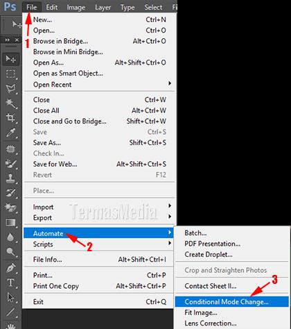 Mengatasi Gambar Tidak Bisa Diedit (Mode Index Layer) Di Adobe Photoshop
