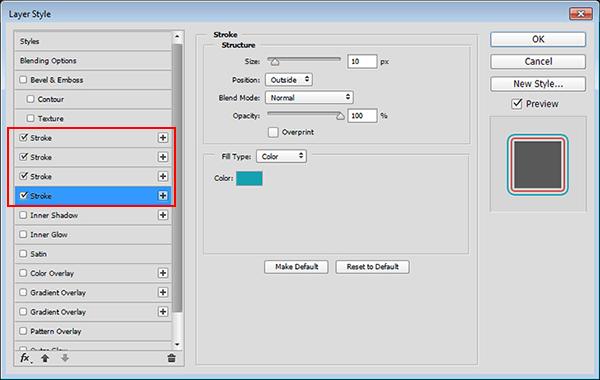 Cara Membuat Garis Tepi Ganda Di Adobe Photoshop