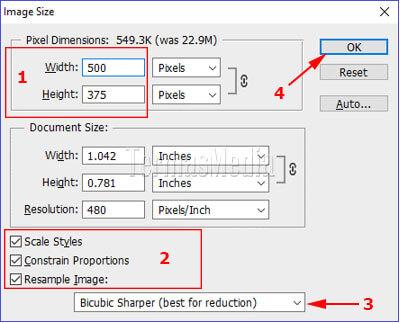Cara Mengubah Ukuran Resize Gambar Dengan Adobe Photoshop