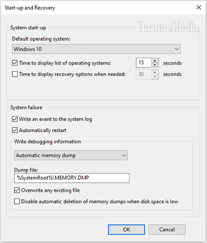 Mempercepat waktu booting Windows 10