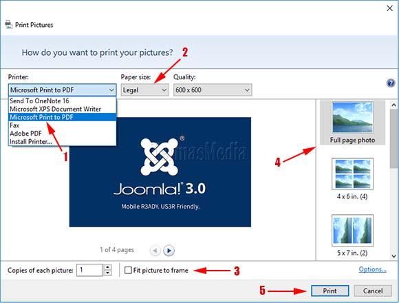 Cara Mudah Membuat Dokumen Pdf Dari Banyak Gambar Di Microsoft Windows