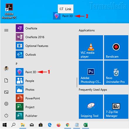 4 Cara Membuat Pintasan Di Desktop Desktop Shortcut Untuk Aplikasi Di Windows 10