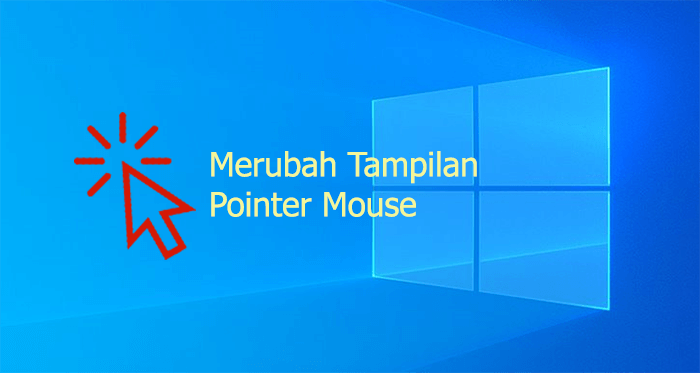 Merubah pointer cursor mouse di Windows