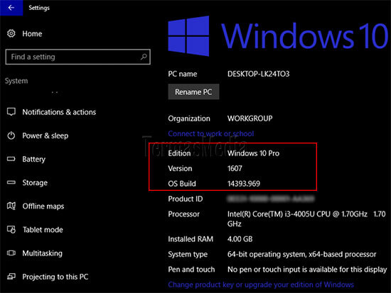 Update ke Windows 10 Creator Update melalui Update Assistant
