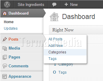 Membuat parent category dan sub-category di Wordpress